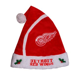 Forever Collectibles NHL Detroit Red Wings 2015 NHL Polyester Santa Hat
