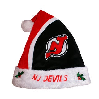 Forever Collectibles NHL New Jersey Devils 2015 NHL Polyester Santa Hat