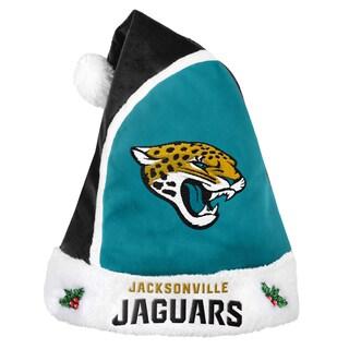 Forever Collectibles NFL Jacksonville Jaguars 2015 NFL Polyester Santa Hat