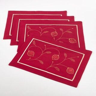 Ornament Design Placemat (Set of 4)