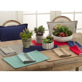 Whip Stitched Design Placemat (Set of 4)