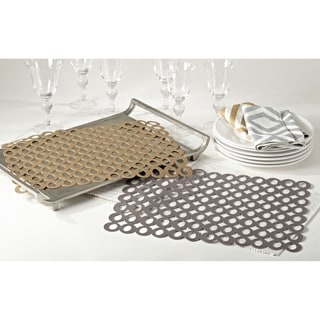 Circle Design Cutout Placemat (Set of 4)