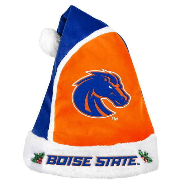 Forever Collectibles Boise State Broncos 2015 NCAA Polyester Santa Hat