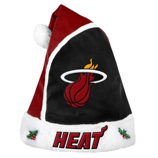 Forever Collectibles Los Miami Heat 2015 NBA Polyester Santa Hat