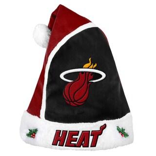 Forever Collectibles Los Miami Heat 2015 NBA Polyester Santa Hat