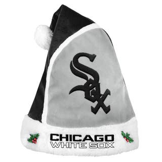 Forever Collectibles Chicago White Sox 2015 MLB Polyester Santa Hat|https://ak1.ostkcdn.com/images/products/10694034/P17755904.jpg?impolicy=medium