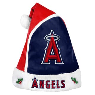 Forever Collectibles Los Angeles Angels 2015 MLB Polyester Santa Hat|https://ak1.ostkcdn.com/images/products/10694037/P17755907.jpg?impolicy=medium