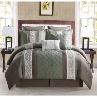 VCNY Farion Embroidered 8-piece Comforter Set