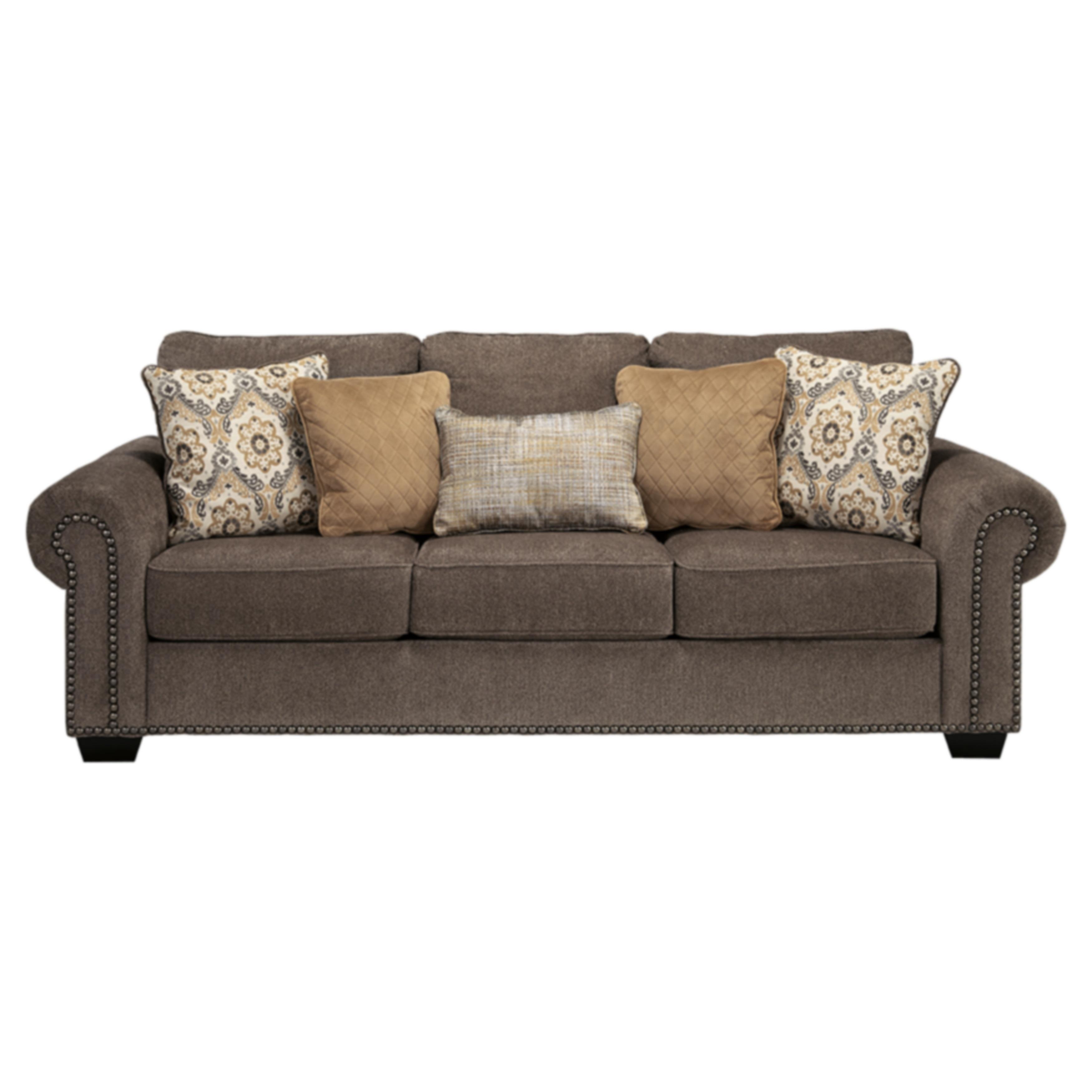 Ashley Emelen Alloy Sofa (Sofa), Grey (Polyester)