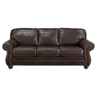 Signature Design by Ashley Bristan Walnut Sofa