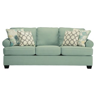 Signature Design by Ashley Daystar Seafoam Sofa