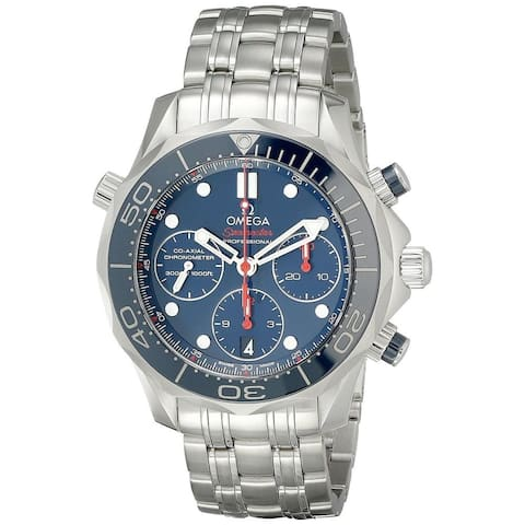 Omega Men's O21230425003001 'Seamaster' Stainless Steel Watch