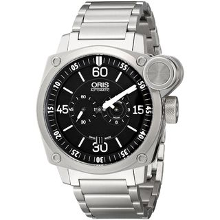 Oris Men's 74976324194MB 'BC4 Der Meisterflieger' Chronograph Automatic Stainless Steel Watch