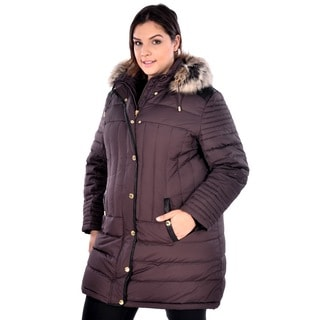 Nuage Women's Plus Size 'Melbourne' Down Coat