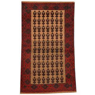 Handmade Balouchi Wool Rug (Afghanistan) - 2'8 x 4'6