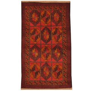Herat Oriental Afghan Hand-knotted Tribal Balouchi Wool Rug (2'8 x 4'9)
