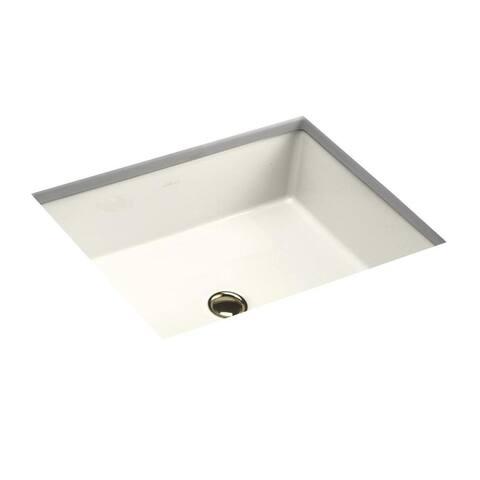 Kohler Verticyl® Rectangle Undermount Bathroom Sink Biscuit (K-2882-96)