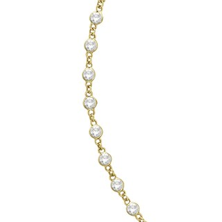 14k Gold 1.51ct Diamonds by the Yard Eternity Necklace (G-H, SI1-SI2)