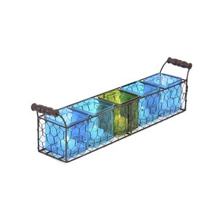 Pfaltzgraff 5 Light Cool Chix Wire Linear
