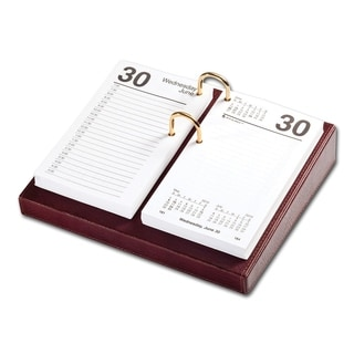 Mocha Leather 3 5 X 6 Calendar Holder