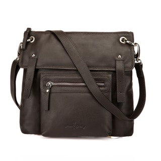 Emmy Leather Crossbody Bag