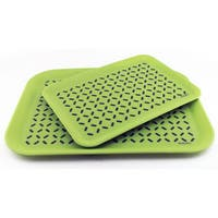 Cooknco Anti-slip Serving Tray 2 Piece Set