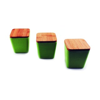 Cooknco Storage Canister with Cover (Set of 3)