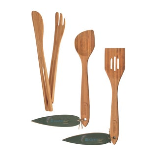 Earthchef 3-piece Bamboo Serve Set