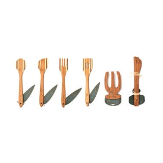 Earthchef 6-piece Bamboo Utensil Set