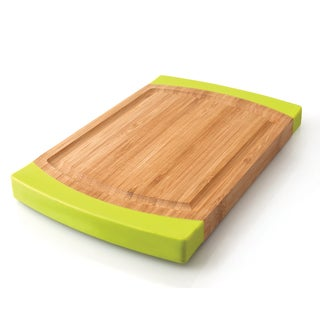 Studio Medium Rounded Bamboo Chopping Board