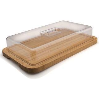 Studio Rect.bamboo Dish with Cover