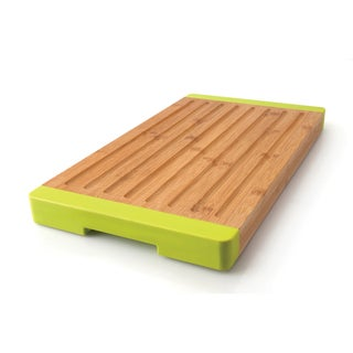 Studio Grooved Bamboo Bread Board
