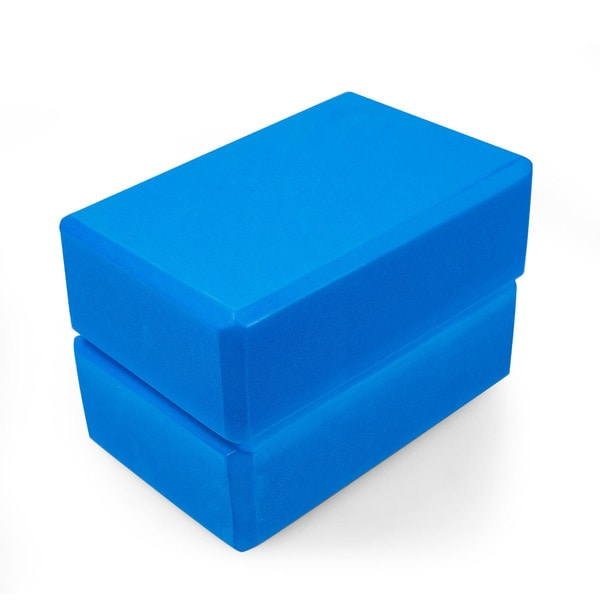 Adeco Set of 2 Exercise Yoga Blocks