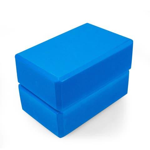 Adeco Set of 2 Exercise Yoga Blocks