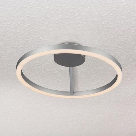 VONN Lighting VMCF41300AL Zuben 20-inch LED Ceiling Fixture in Silver