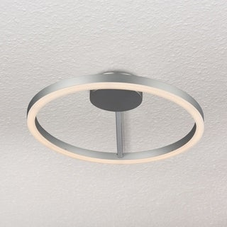VONN Lighting Zuben 20-inch LED Satin Nickel Ceiling Fixture in