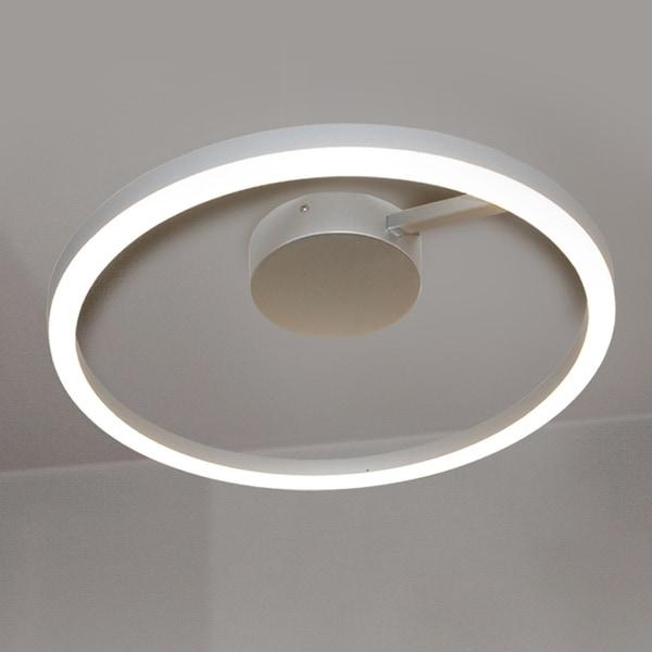 Vonn lighting vmcf41300al zuben 20 inch led ceiling fixture in silver