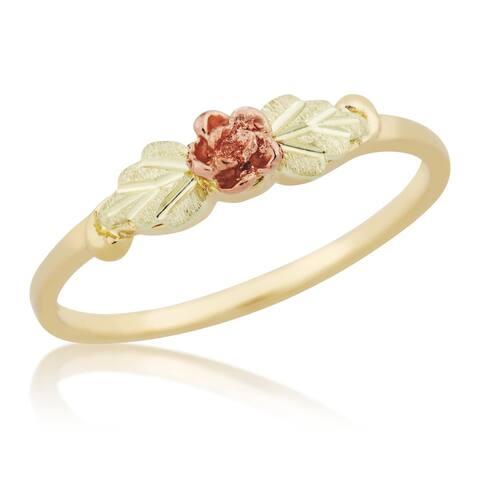 Black Hills Gold Rose Ring