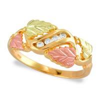 Black Hills Gold Diamond Accent Ring
