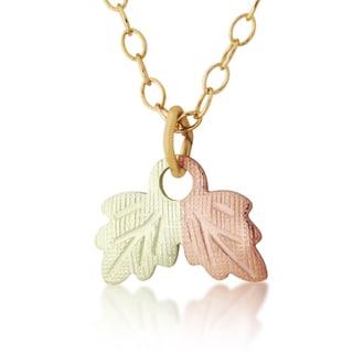 Black hills gold leaf pendant free shipping on orders over 45 black hills gold leaf pendant aloadofball Choice Image