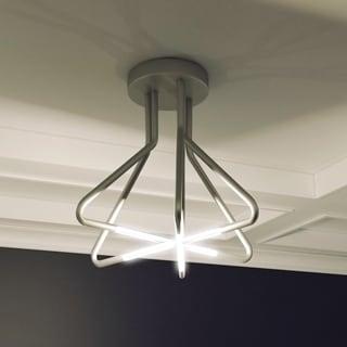 VONN Lighting Zosma 20-inch LED Ceiling Light, Modern Star-Pattern Ceiling Fixture