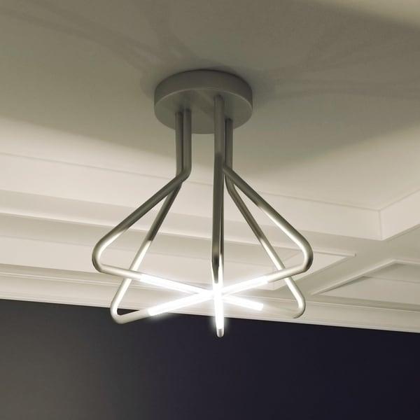 Vonn lighting vmc32200al zosma 20 inch led ceiling light modern star pattern ceiling