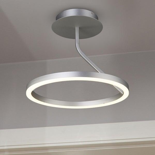 Vonn lighting vmc32000al zuben 18 inch led orbicular ceiling fixture in silver
