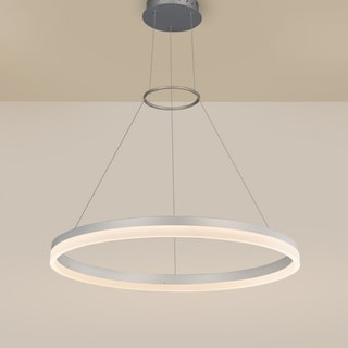 VONN Lighting VMC31650AL Tania 24-inch LED Circular Chandelier