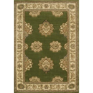Contours Zara Green Accent Rug (2'7 x 4'2)