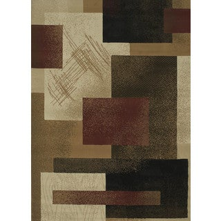 "China Garden Contempo Berber Runner Rug (1'11"" X 7' 4"")"