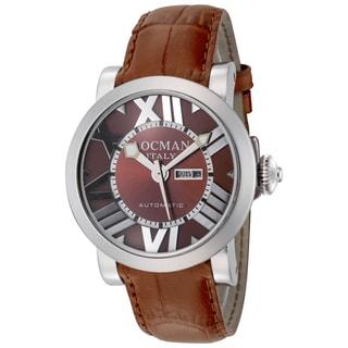 Locman Toscano Automatic Women's Watch LO-293BR-BRLEAL