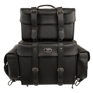 Large Four-piece PVC Touring Pack With Barrel Bag