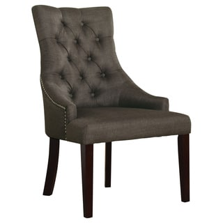 Drogo Accent Grey Fabric Chair (Set of 2)