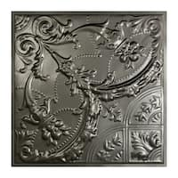 Great Lakes Tin Saginaw Argento Lay-In Ceiling Tile (Carton of 5)